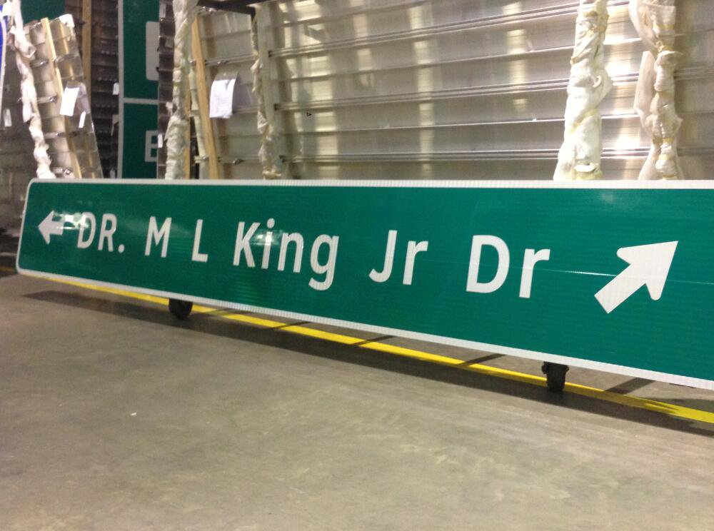 Aluminum street sign blanks